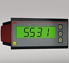 Loop-powered LCD indicator